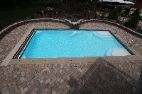 Monte Carlo Fiberglass Pool in Richmond, VA