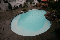 Venetian Fiberglass Pool in Pocono Summit, PA